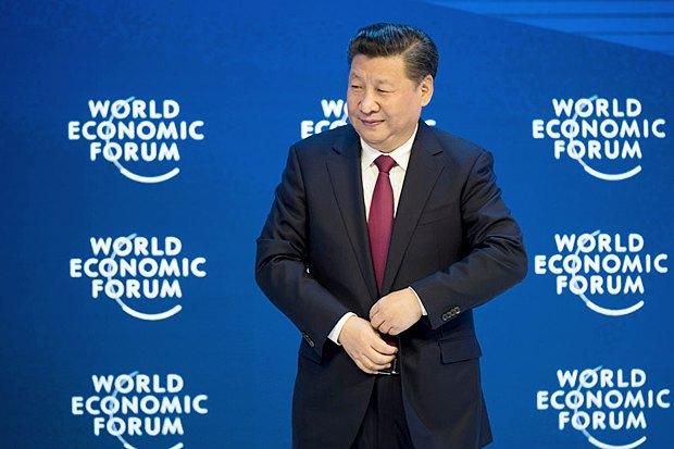 Президент Китая Си Цзиньпин в Давосе