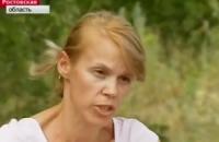 """Актриса из ролика о """"распятом мальчике"""" снялась в сюжете возле обстрелянного троллейбуса в Донецке"""