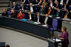 Бундестаг схвалив фінансову допомогу Греції
