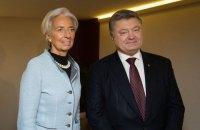 Рішення про наступний транш МВФ ухвалять у найближчі кілька днів, - Лагард