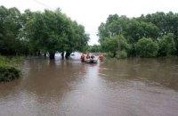 После паводка на западе Украины остаются подтопленными 70 населенных пунктов