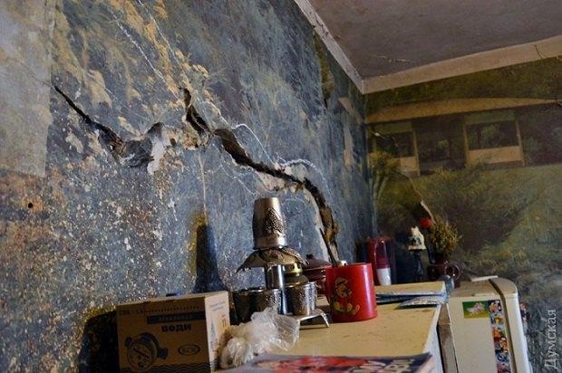 57f563389120a В центре Одессы обрушилась стена дома
