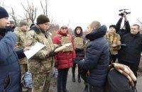 Украине впервые отдали заключенных из ОРЛО