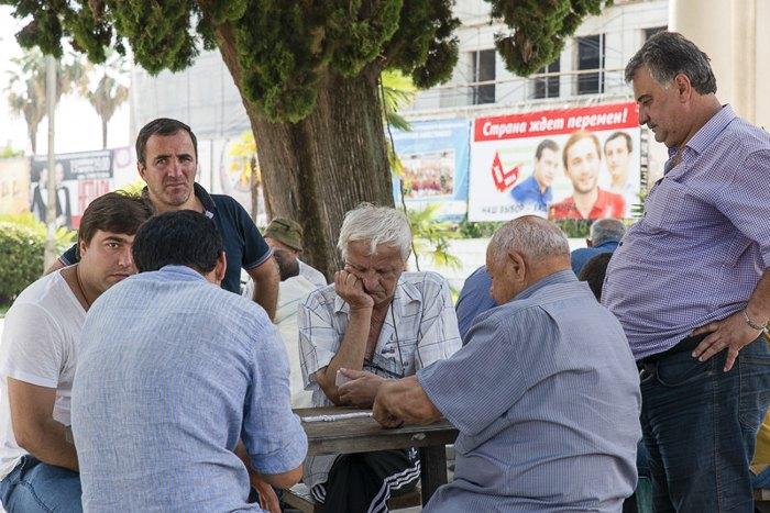 Сухуми, столица Абхазии, 23 августа 2014.
