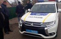 В Запорожской области в полицейских бросили гранату
