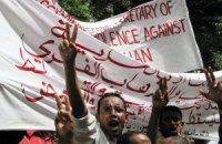 Ліванська армія розігнала молодіжну акцію протесту