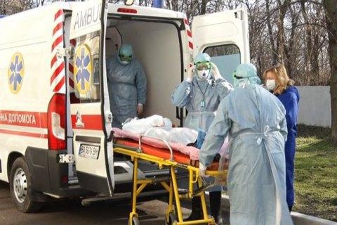 В Киеве определили больницы, куда будут принимать людей в случае заражения коронавирусом
