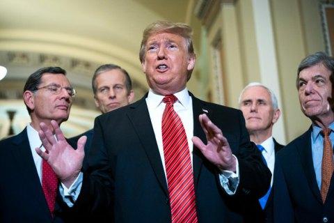"""""""Весь мир завидует экономике и армии США"""", - Трамп в обращении к Конгрессу"""