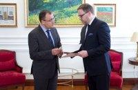 В МИД приняли копии верительных грамот от нового посла Польши Цихоцкого