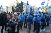 Черниговская ПР отправила на провластный митинг 50 автобусов митингующих