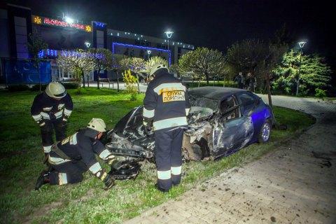 У Дніпрі в ДТП загинула жінка-пішохід і пасажирка автомобіля