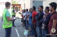 На киевском рынке задержали 24 нелегальных мигранта из Бангладеш