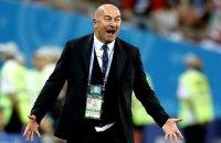 Черчесова відправили у відставку з посади головного тренера збірної Росії
