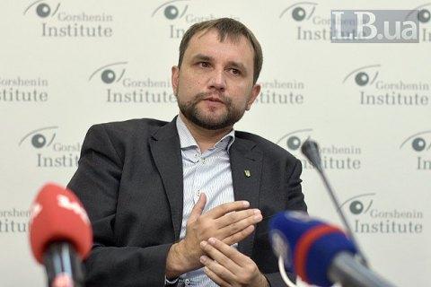 """В'ятрович заявляє, що """"слуги народу"""" хочуть через суд не пустити його в депутати"""