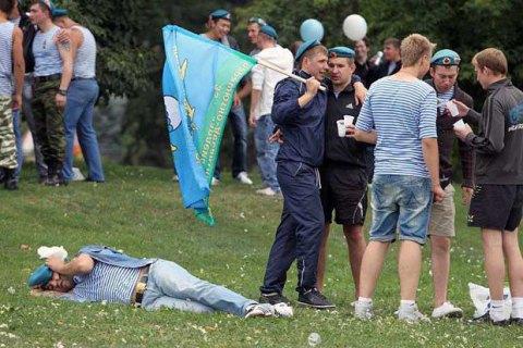 Російських десантників попросили утриматися від побиття геїв у день ПДВ