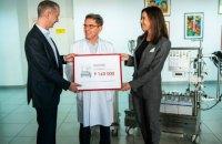 Фонд Бориса Ложкина передал оборудование для Центра детской кардиологии на 9 млн грн