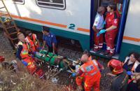 При столкновении поездов в Италии пострадали 10 человек