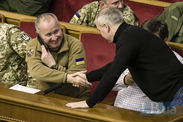 Василь Грицак і Нестор Шуфрич