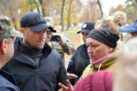 Украинские полицейские останутся в Золотом-4 и Катериновке после разведения войск