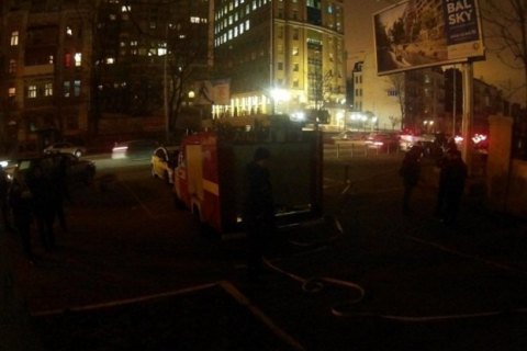 Пожежа в кабельному колекторі на Жилянській загашена