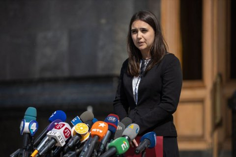 Пресс-секретарь Зеленского прокомментировала конфликт с журналистами