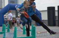 У Києві День захисту дітей відзначили спортивними заходами (фото додаються)