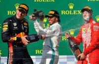 Ферстаппену не вистачило трьох кіл, щоб удруге поспіль виграти етап Формули-1