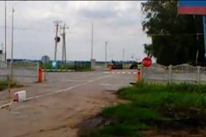 Госпогранслужба обнародовала видео провокаций РФ на границе