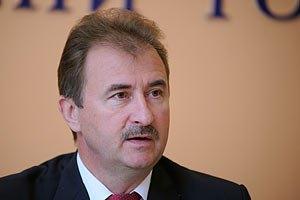 Активисты пикетируют дом Попова