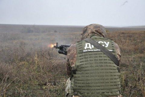 Підрозділи Донецького прикордонного загону провели навчання на Азовському морі