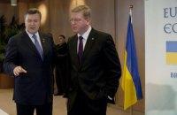 Янукович предложил Фюле отложить Ассоциацию Украины на год