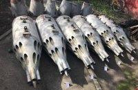 В Киевской области обнаружили склад пусковых устройств для авиаракет