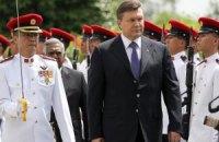 Янукович почтил память иорданских королей