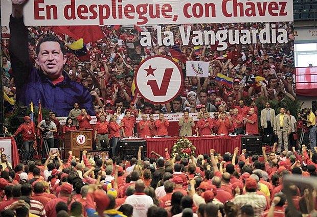 Съезд Единой социалистической партии Венесуэлы, основателем и лидером которой был Уго Чавес (2007-2013)