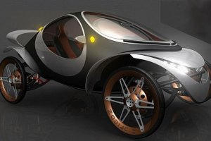 В Украине появился электромобиль