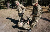 Возле Новоалександровки ранен украинский военный