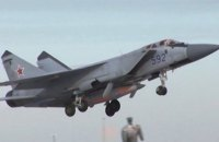 В Нижегородской области РФ упал истребитель МиГ-31