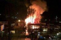 В Одессе сгорел фитнес-клуб, где тренировались полицейские и участники АТО