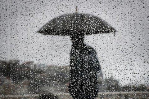 В пятницу на большей территории Украины пройдут дожди