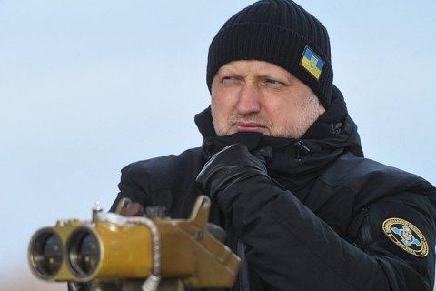 Турчинов: Украинские военные в зоне АТО в 2017 продвинулись на 10 км