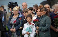 У Києві вшанували пам'ять військових та правоохоронців, які загинули за свободу України