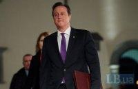 """Кэмерон пообещал России запустить """"маховик санкций"""""""
