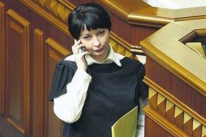 Янукович назначил Елену Лукаш министром Кабмина