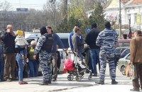 В Симферополе прошли массовые задержания на центральном рынке