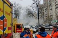 В Киеве затопило горячей водой подземный переход на проспекте Победы