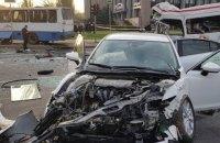 Полиция задержала водителя Mazda - учасника ДТП в Кривом Роге
