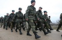 До Києв прибули українські морпіхи з Криму