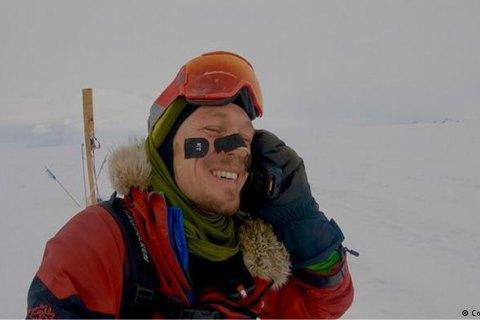 Американец О'Брейди успешно завершил одиночный переход через Антарктику