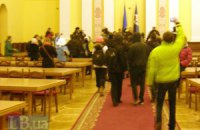 Пресс-служба КГГА прекратила работу из-за митингующих