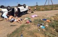 В больнице скончался 7-летний ребенок, пострадавший в ДТП в Запорожской области